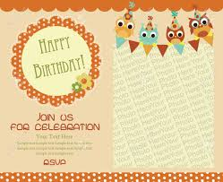 Sample Of 7th Birthday Invitation Card Happy Birthday Invitation Cards U2013 Gangcraft Net