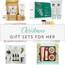 Christmas Gift Sets Christmas Gift Guide 2017 Gift Sets For Her Love Telina