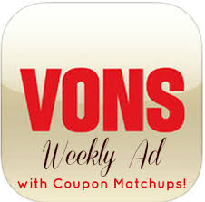 vons weekly ad with coupon matchups 12 06 u2013 12 12 2017 vons