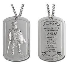 armor of god necklace armor of god dog tag xjd0040