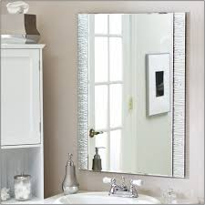 Decorating Ideas For Bathroom Mirrors Frameless Bathroom Mirror Bathroom Mirrors Ideas