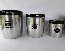 canister set for kitchen kitchen canister set etsy