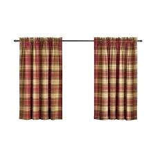 red plaid curtains u2013 teawing co