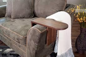Sofa Arm Table by Sofa Arm Table Buildsomething Com