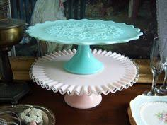 fabulous fenton flame crest cake stand ultra by vintagesouthwest