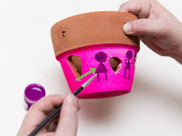 terracotta pots how to paint a terracotta pot 12 steps with pictures wikihow