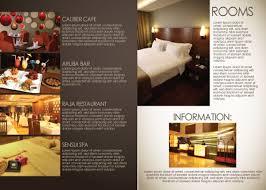 free templates for hotel brochures brochure for hotel design freecreatives templ on fancy brochure