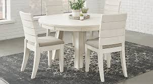 white round dining room tables crestwood creek ivory 5 pc round dining room dining room sets