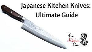 different kitchen knives japanese kitchen knives ultimate guide of the best types the