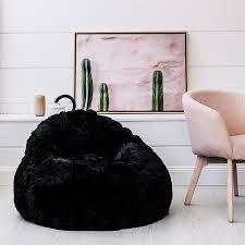 furniture u0026 rug sheepskin beanbag sherpa bean bag biggest