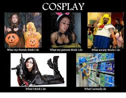 What They Think I Do Meme - cosplay what my friends think i do what my parents think i do what