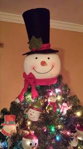 snowman tree home accents 18 in snowman tree topper txf1794 at the