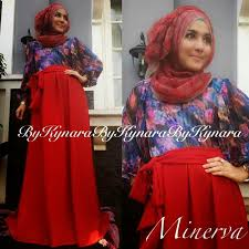 Grosir Baju Muslim baju muslim terbaru di thamrin city minerva dress by kynara
