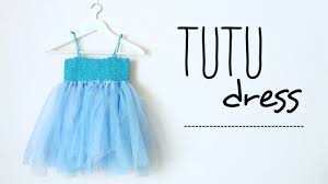 how to make a tutu dress with crochet top all sizes no sew tutu