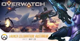 overwatch launch celebration australia news overwatch