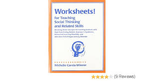 amazon com worksheets for teaching social thinking and related