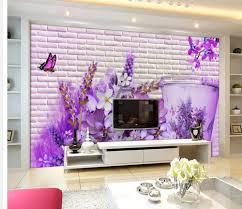 3d wallpaper for room home decoration corner flower backdrop
