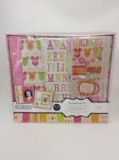 baby girl scrapbook album complete scrapbook kit ebay