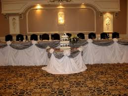 high table decorations for a wedding decorating of party