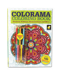 amazon com colorama coloring book for with 12 colored