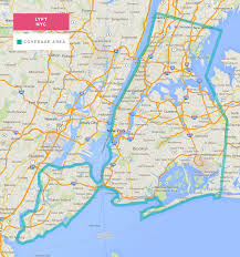 Bronx Map Lyft Map For New York City And Free Ride Credits 50 Lyft Code