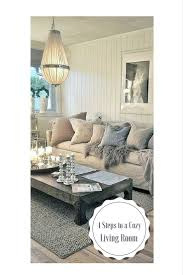 Cozy Living Room by Create A Cozy Living Room Blissfully Domestic