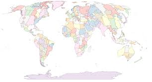 america map no borders a shapefile of the tz timezones of the world