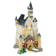 retired dept 56 halloween alpine village neuschwanstein castle department 56 corner