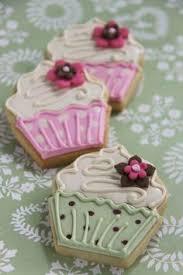 cupcake cookies decorated cookies pinterest sugar cookies