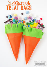 treat bags diy carrot treat bags scattered thoughts of a crafty by