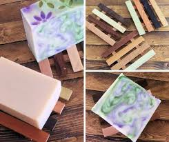 reclaimed wood soap dish island thyme soap company