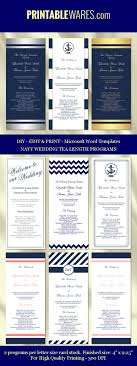 free printable wedding programs online best 25 wedding program templates ideas on diy