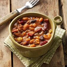 hearty baked beans recipe taste of home