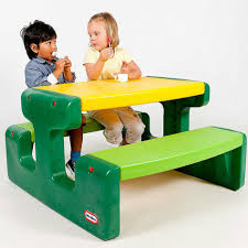 Little Tikes Fold N Store Picnic Table Directions by Furniture Astounding Image Of Green And Yellow Little Tikes
