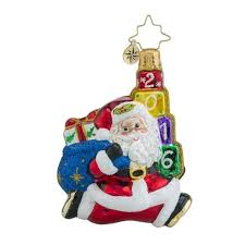 Glass Halloween Ornaments by Tips Christopher Radko Santa Ornaments Christopher Radko