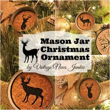 diy rustic christmas ornaments mason jar christmas christmas