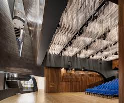 Metre To Square Feet Mega Interlocking Studio Bell Music Centre By Allied Works