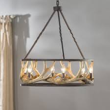 faux antler chandelier wayfair