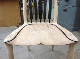Dining Chair Seats Power Carving A Sculpted Chair Seat