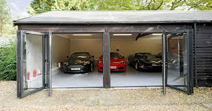 3 door garage bi fold doors 3 door south coast bi folds