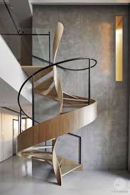best 25 spiral staircases ideas on pinterest spiral staircase this intriguing timber staircase set before a moody expanse of concrete has immense visual appeal with its beautiful almost helix like central twist and