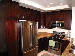 Cabinets For Small Kitchen Interior Design Interesting Dark Waypoint Cabinets With Modern