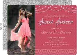sweet sixteen invitations sweet 16 birthday invitations