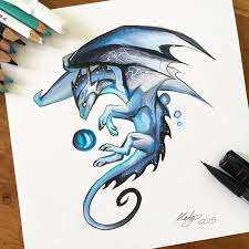 190 blue mystic dragonthis guy was just a cute little creation