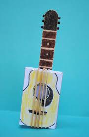 zakka life kid craft matchbox guitar musica pinterest