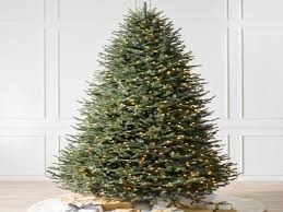best artificial christmas trees best blue spruce christmas tree balsam hill for most realistic