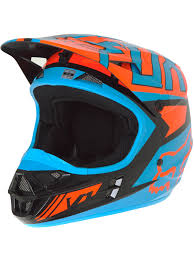 blue motocross helmets fox black orange 2017 v1 falcon mx helmet fox freestylextreme