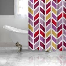 Fashion Shower Curtains Yellow Fabric Shower Curtain Foter