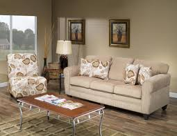 beige fabric modern sofa and accent chair set w options