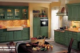 Green Country Kitchen 27 Green Country Style Kitchens Rustic Kitchen Designs Pictures